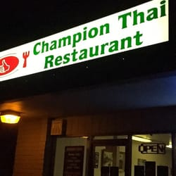Champion Thai Restaurant Lodi Ca