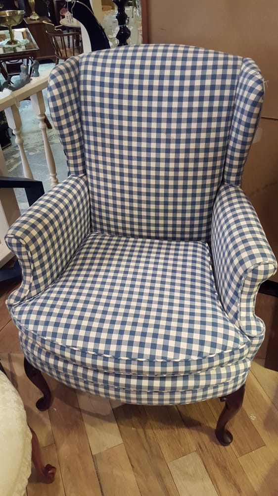 Photo Of Consignment Connection   Burlington, NC, United States. Gingham  Chair Perfect For