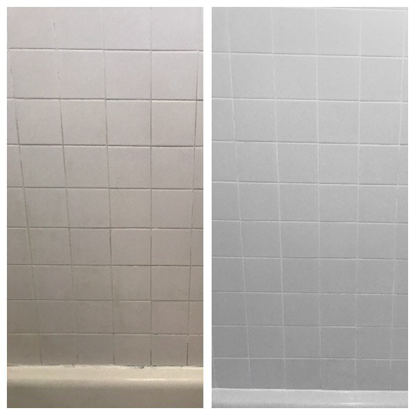 Deep Clean Of Tile And Grout Color Seal Grout And Silicone Around - Clean and seal grout lines