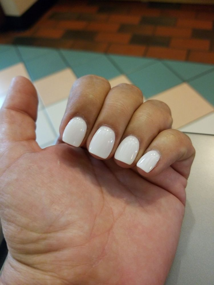 Off white SNS Nails - Yelp