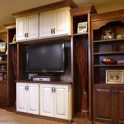 Photo Of Showplace Kitchens   Harrisburg, SD, United States. This  Entertainment Center Blends