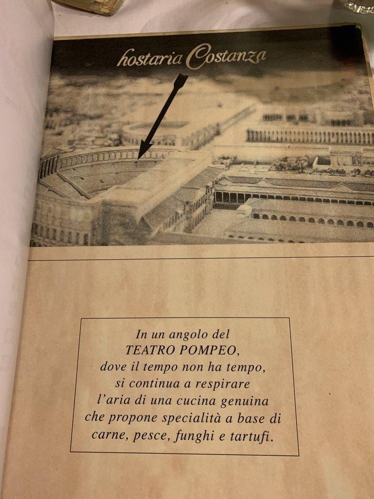 Hostaria Costanza - (New) 90 Photos & 42 Reviews - Italian