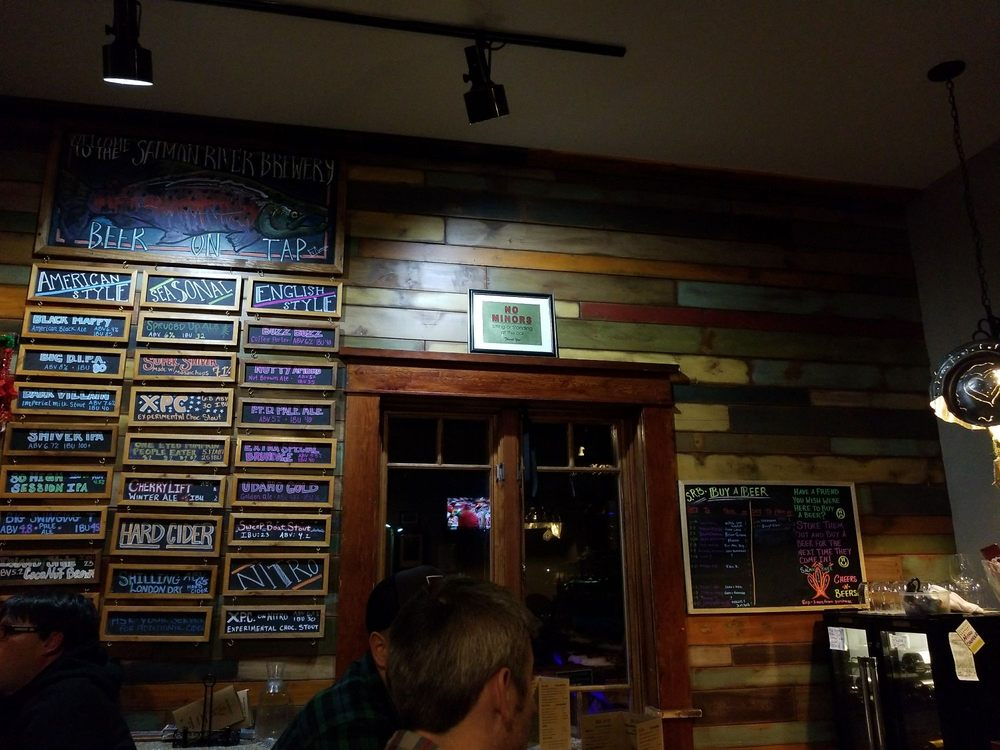 Salmon River Brewery: 411 Railroad Ave, McCall, ID