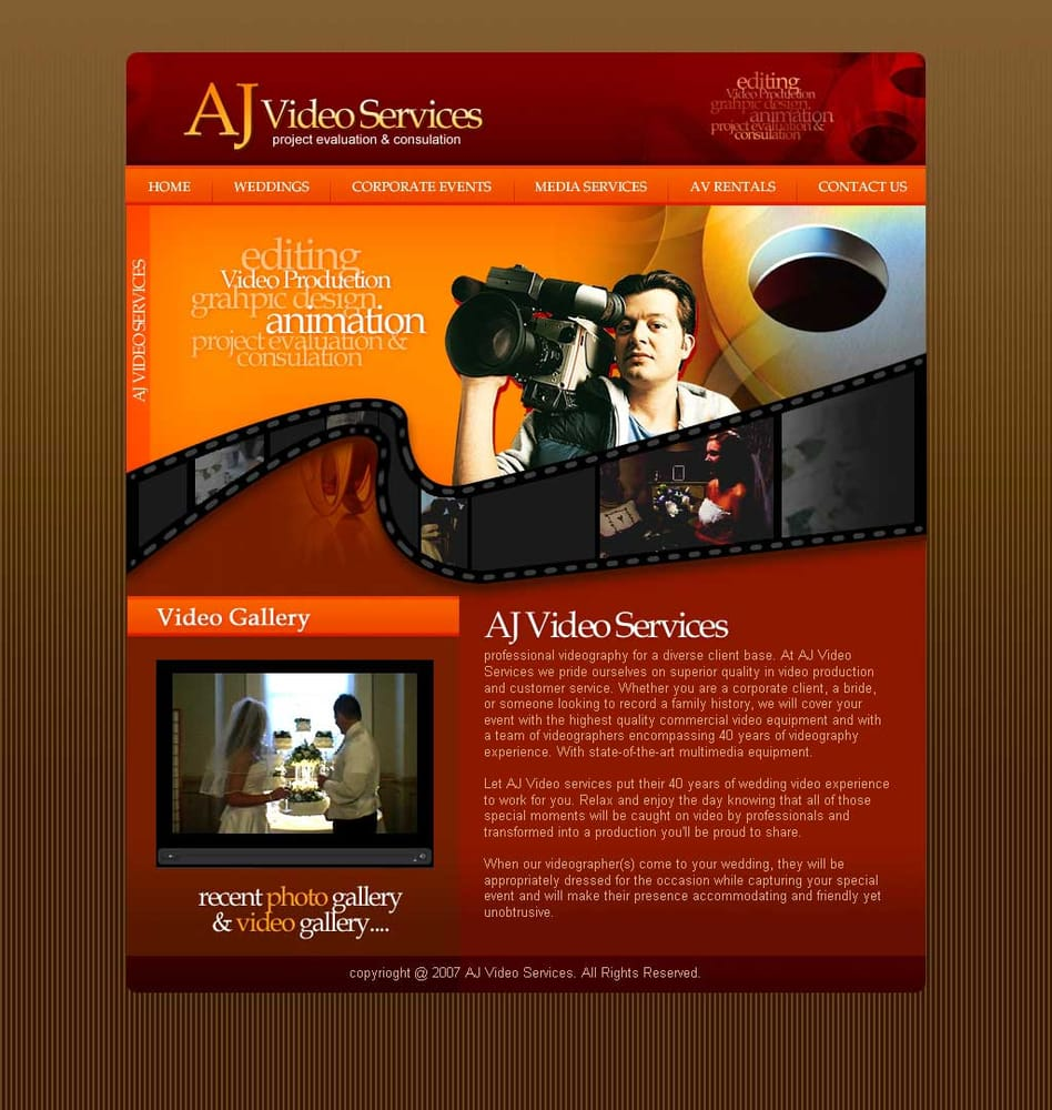 AJ Video Services: 4408 Washington Blvd, Baltimore, MD