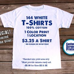 Custom Screen Printing of Florida - Screen Printing/T-Shirt