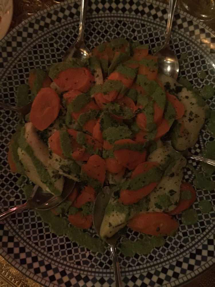 Fish tagine was delicious 3 5 of the casablanca feast for Aicha moroccan cuisine san francisco