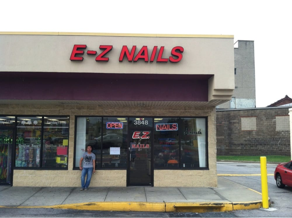 Ez Nails: 3848 E Lombard St, Baltimore, MD