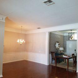 Photo Of John McDonald Painting   Houston, TX, United States. Same Dining  Room