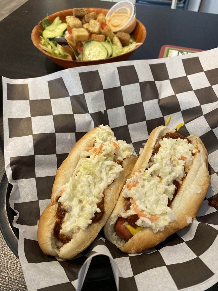 Food from Tito's Sloppy Doggs