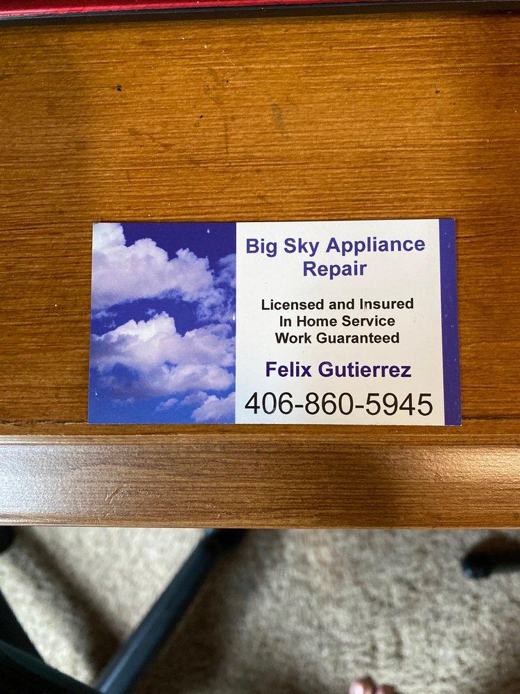 Big Sky Appliance Repair: Billings, MT