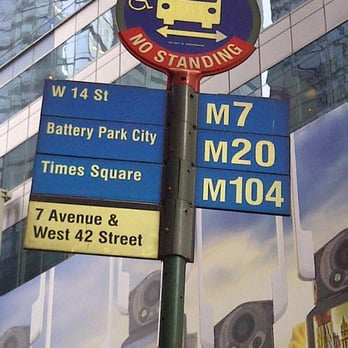 M20 Bus - Public Transportation - Whitehall St And South St