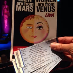 Men Are From Mars Women Are From Venus Live! - Performing ...