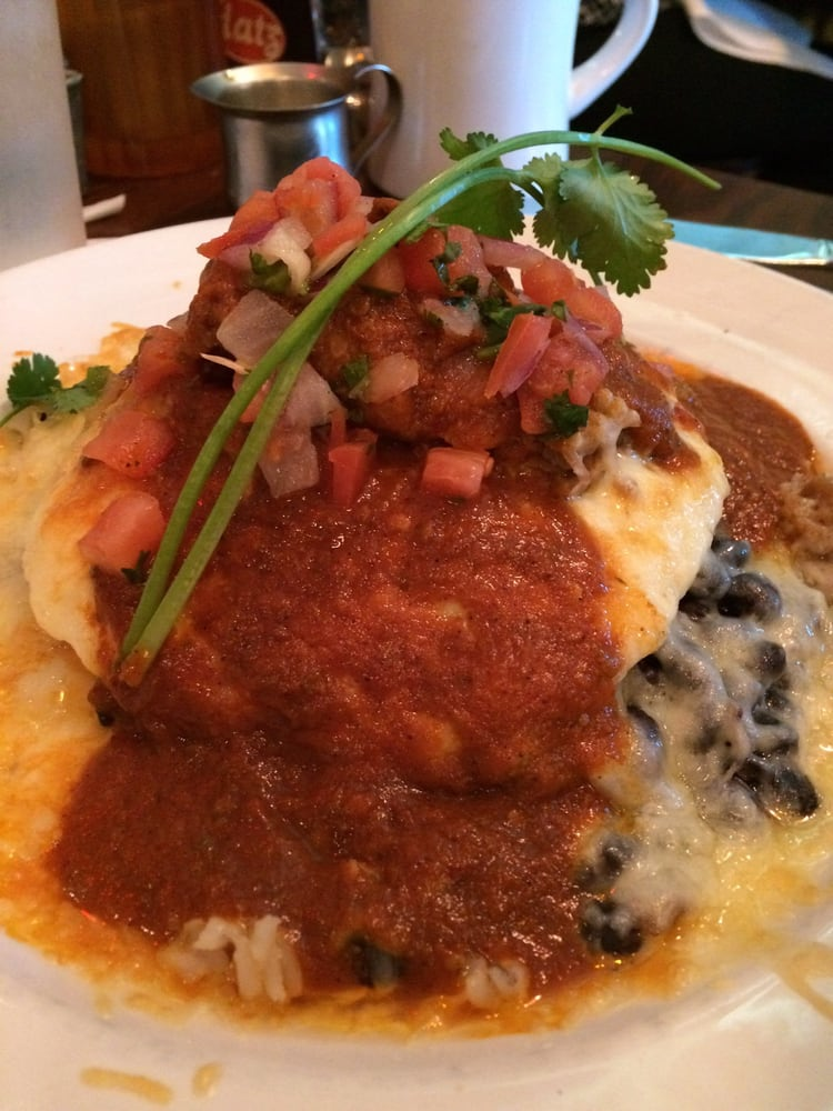 Eggs Barbacoa-a feast for the eyes and taste buds! - Yelp