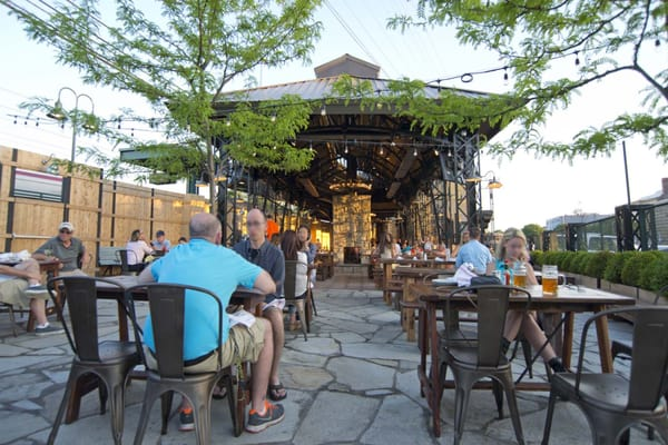 Port chester hall beer garden 70 photos pubs port - Village beer garden port chester ...
