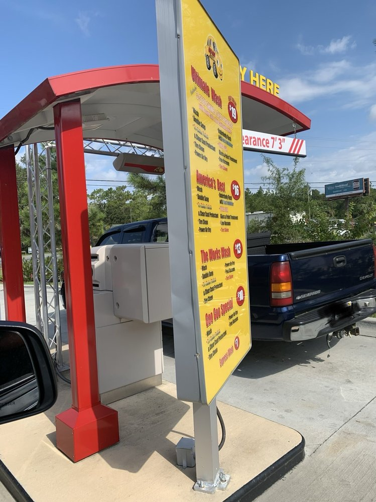 Goo-Goo Minute Express Wash: 2135 Crawfordville Hwy, Crawfordville, FL