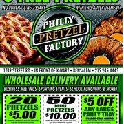 pretzel factory coupons