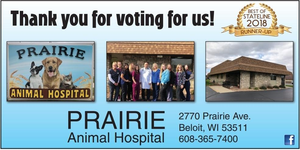 Prairie Animal Hospital: 2770 Prairie Ave, Beloit, WI