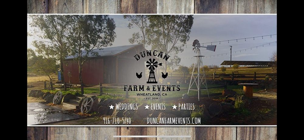 Duncan Farm and Events: 4215 Monarch Trl, Wheatland, CA