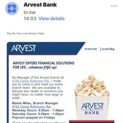 Arvest Bank - Banks & Credit Unions - 4724 Camp Robinson Rd