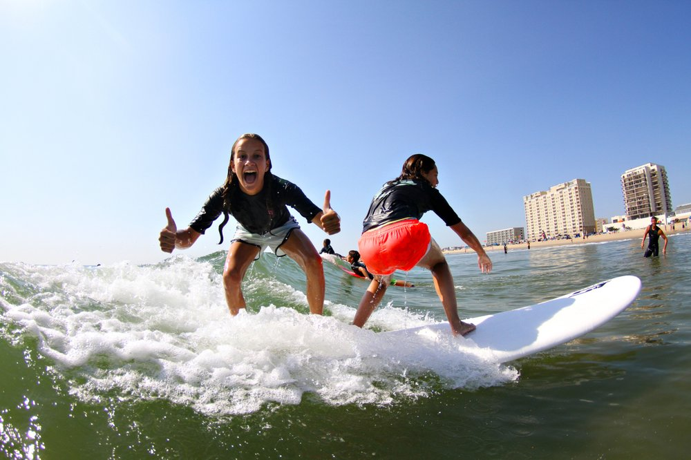 WRV Surf Camp: 5TH St Atlantic Ave, Virginia Beach, VA