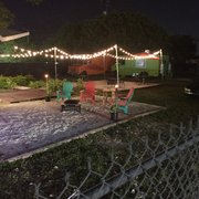 Where The Magic Photo Of Rafau0027s Backyard Grill   Miami, FL, United States.  Seats Out Back