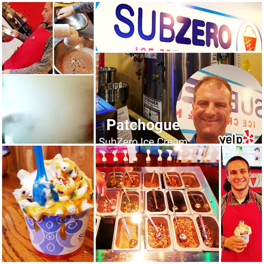 SubZero Ice Cream: 73 N Ocean Ave, Patchogue, NY