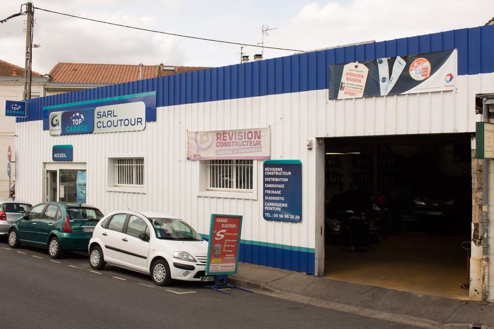 Garage cloutour panel beaters paint services 7 cours for Garage auto merignac