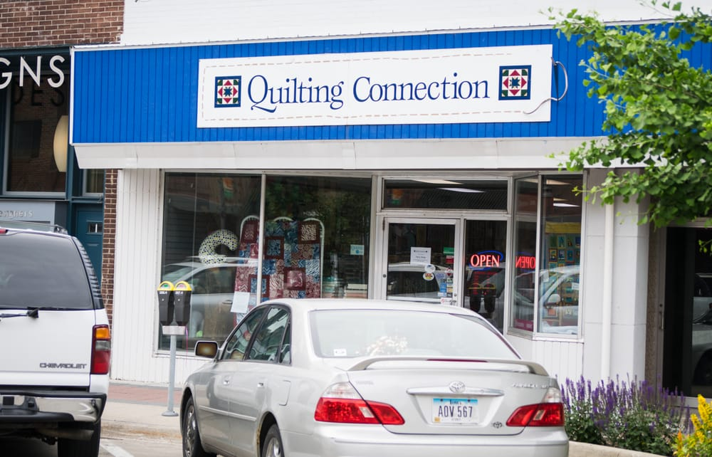Quilting Connection: 238 Main St, Ames, IA