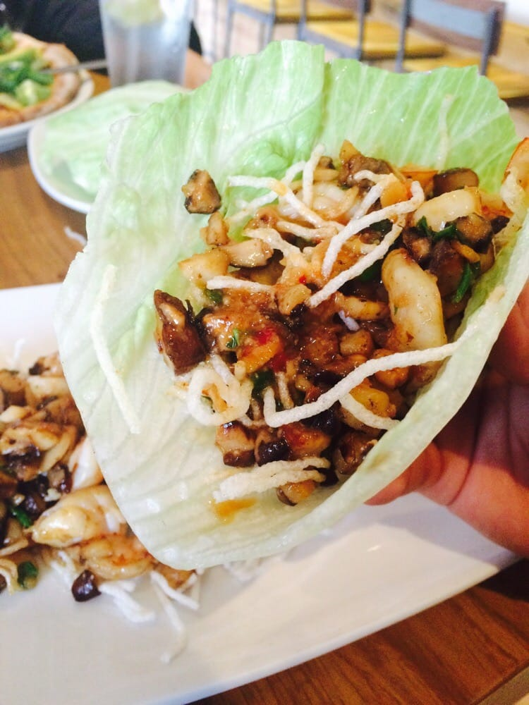 Shrimp Lettuce Wrap Savory And Filling Yelp