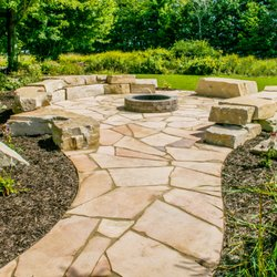 Photo Of Green Oasis River Falls Wi United States Flagstone