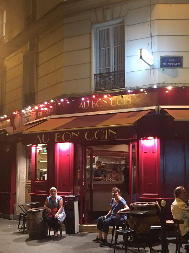 au bon coin 20 photos 53 reviews wine bars 49 rue des cloys 18e nord championnet paris. Black Bedroom Furniture Sets. Home Design Ideas