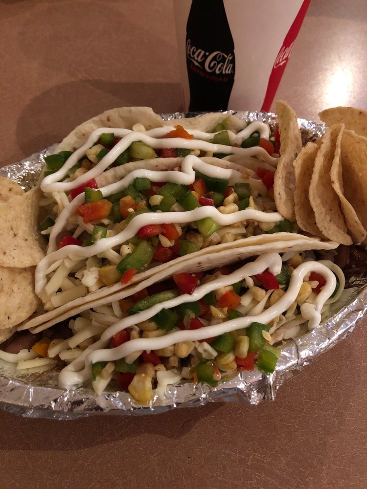 Food from Pablo's Mexican Grill