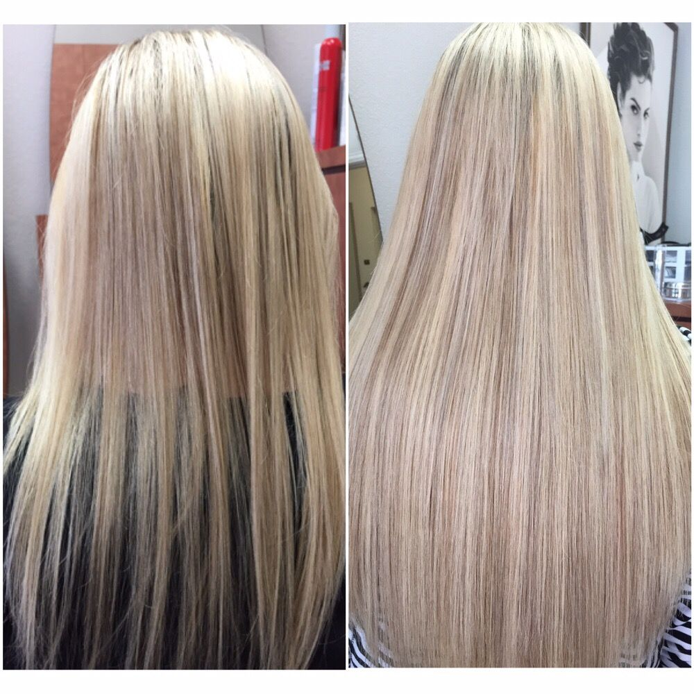 Hot Head Hair Extensions Blonde Highlights And Lowlights Easy To