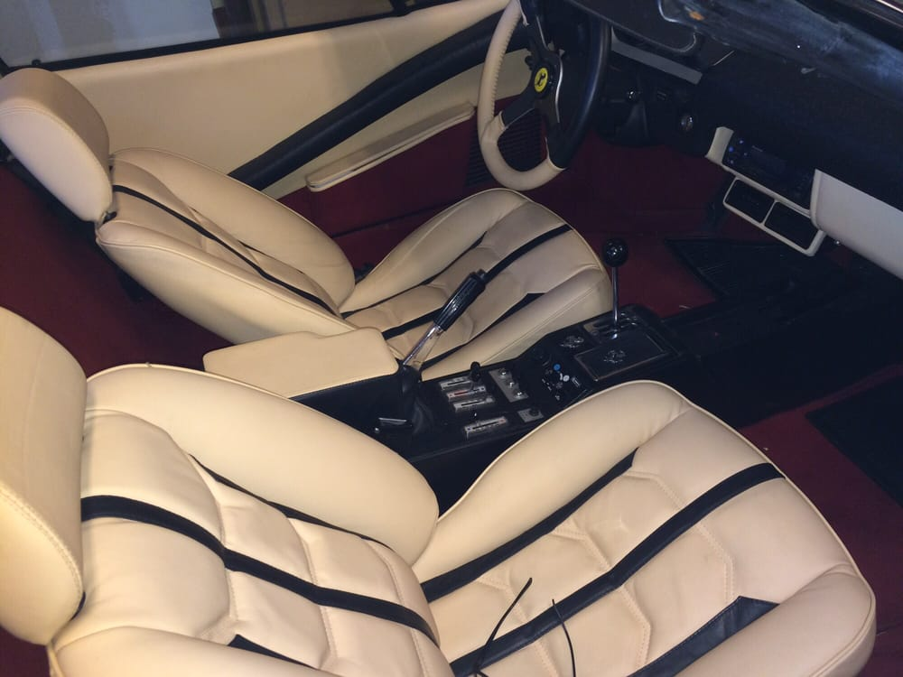 brentwood auto upholstery 308 gts ferrari yelp. Black Bedroom Furniture Sets. Home Design Ideas