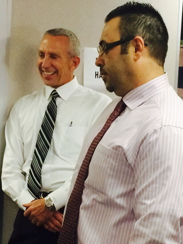 General Manager Frank Murphy With Frank Carbajal Yelp