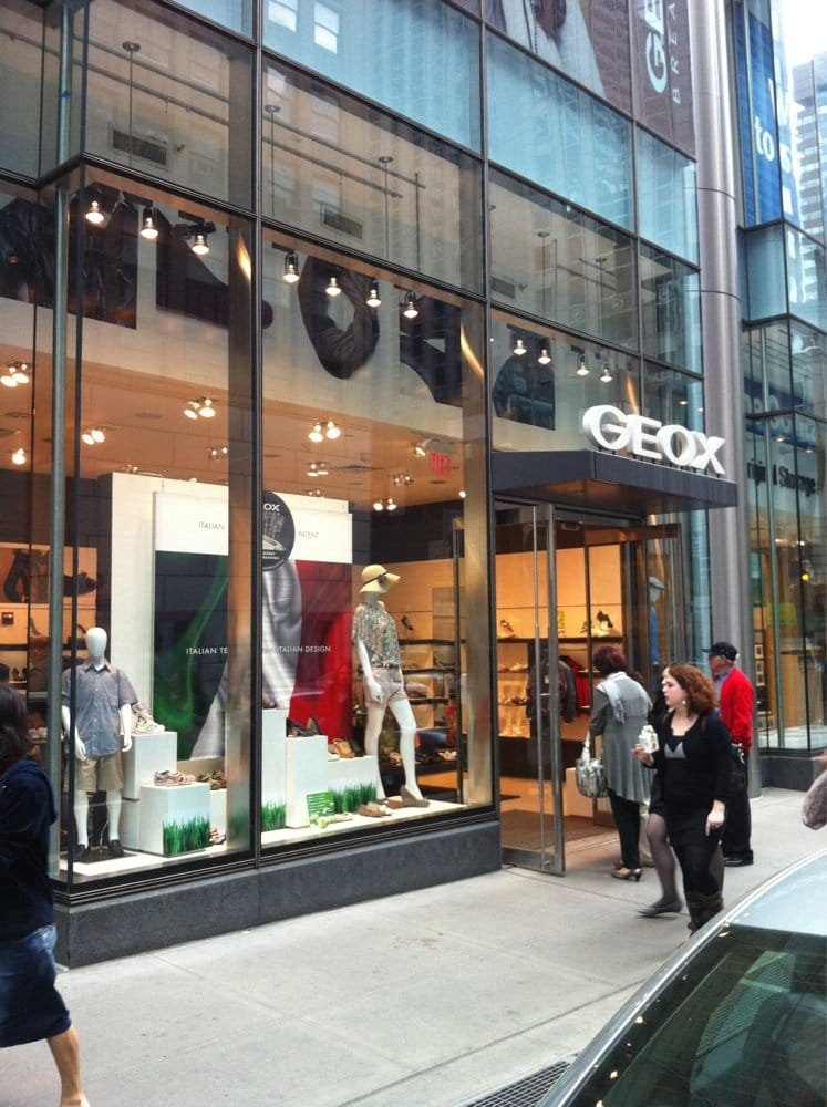 Geox ferm magasins de chaussures 731 lexington ave for 731 lexington ave new york ny 10022