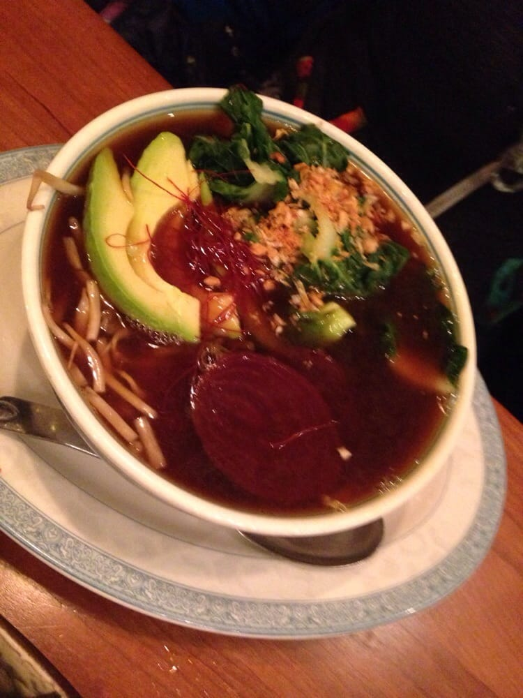 Ramen with beets! - Yelp