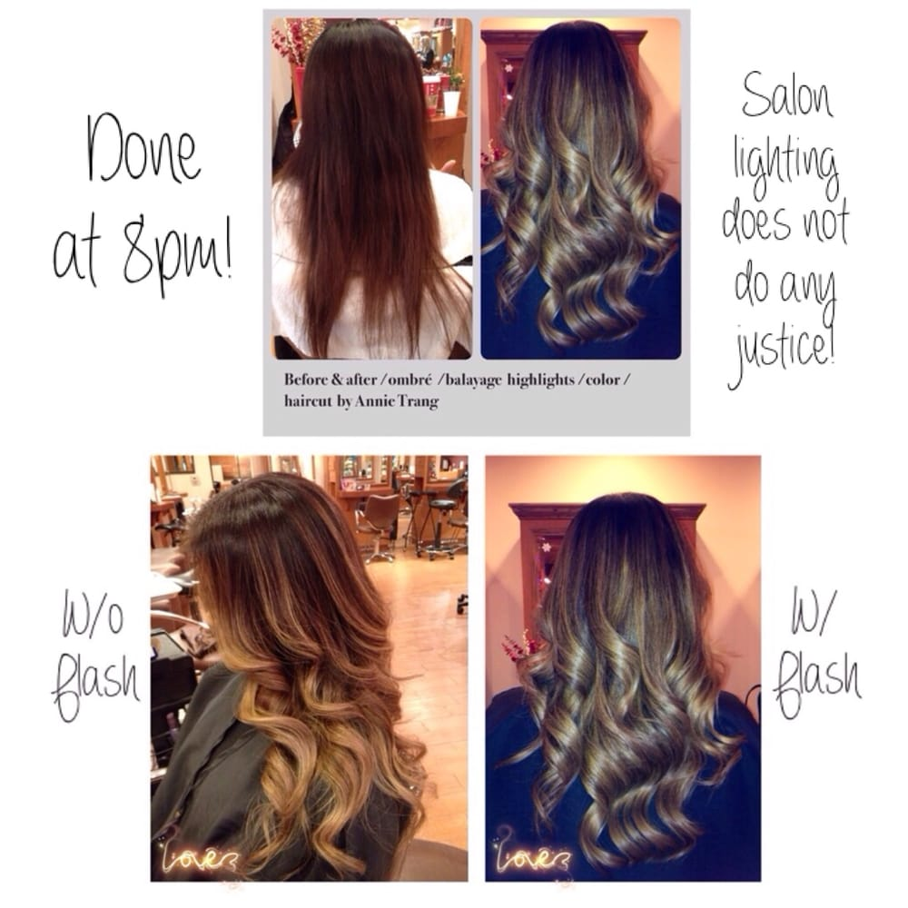 Amazing Hair Transformation Before After Ombrebalayage