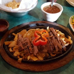 Photo Of El Fenix Mexican Restaurant Denton Tx United States Beef Fajitas