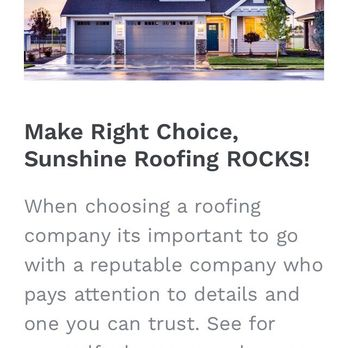 Photo Of Sunshine Roofing   Dallas, TX, United States