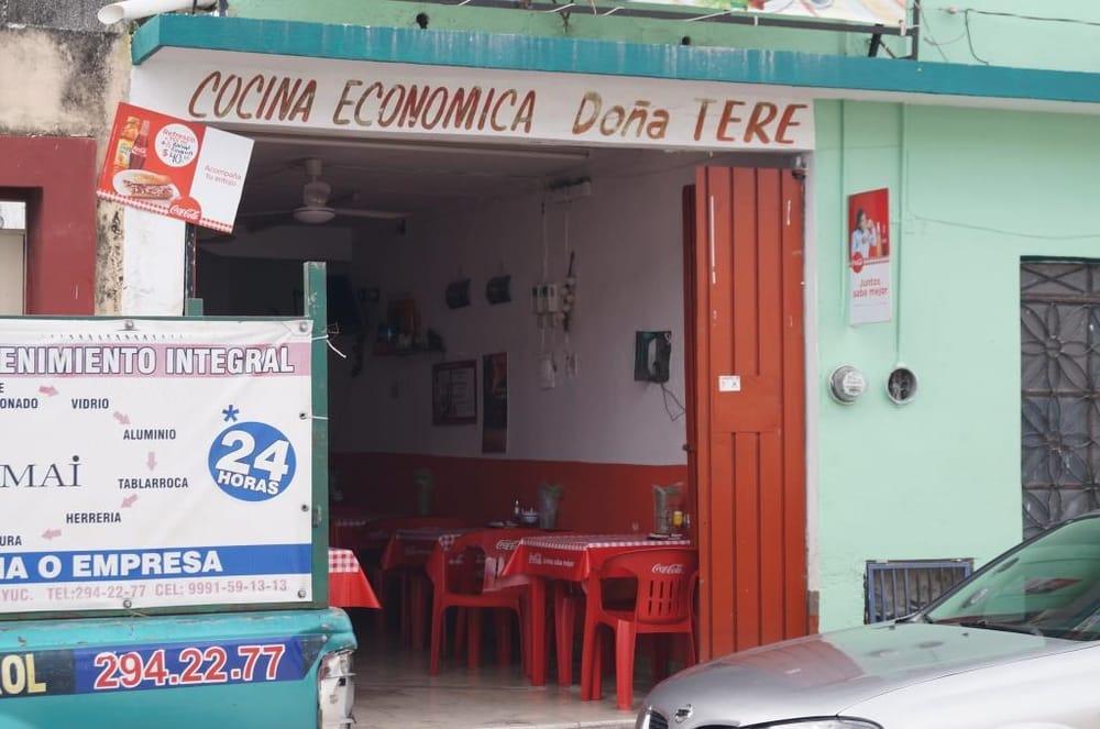 Do a tere cocina de yucat n entre 66 y 68 m rida for Cocina economica