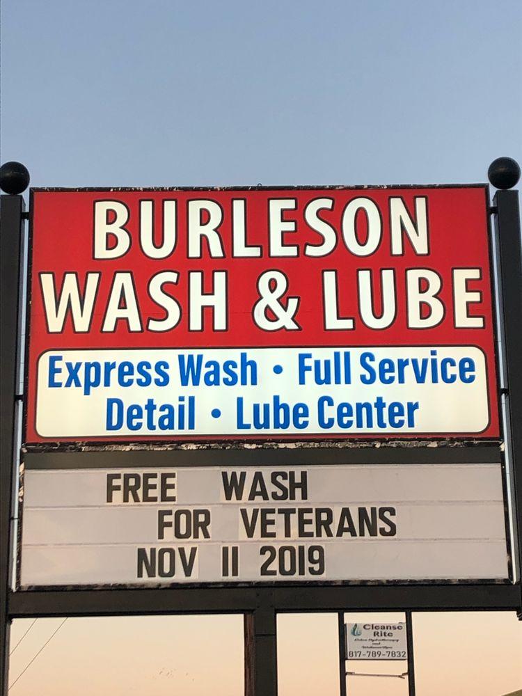 Burleson Wash & Lube: 537 SW Wilshire Blvd, Burleson, TX