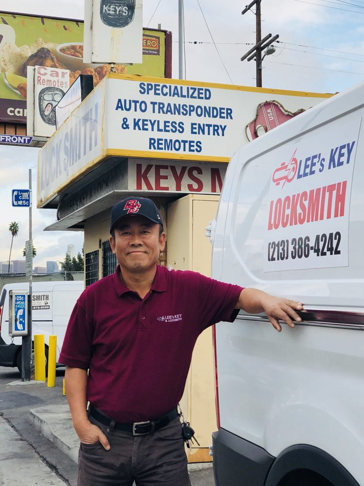 Lee's Key & Locksmith: 3120 1/2 W 8th St, Los Angeles, CA