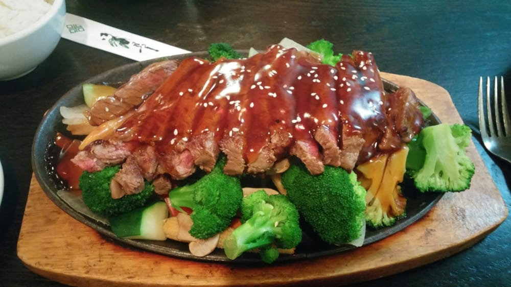 Steak teriyaki came with miso soup tasty with plenty of for Asia sushi bar and asian cuisine mashpee