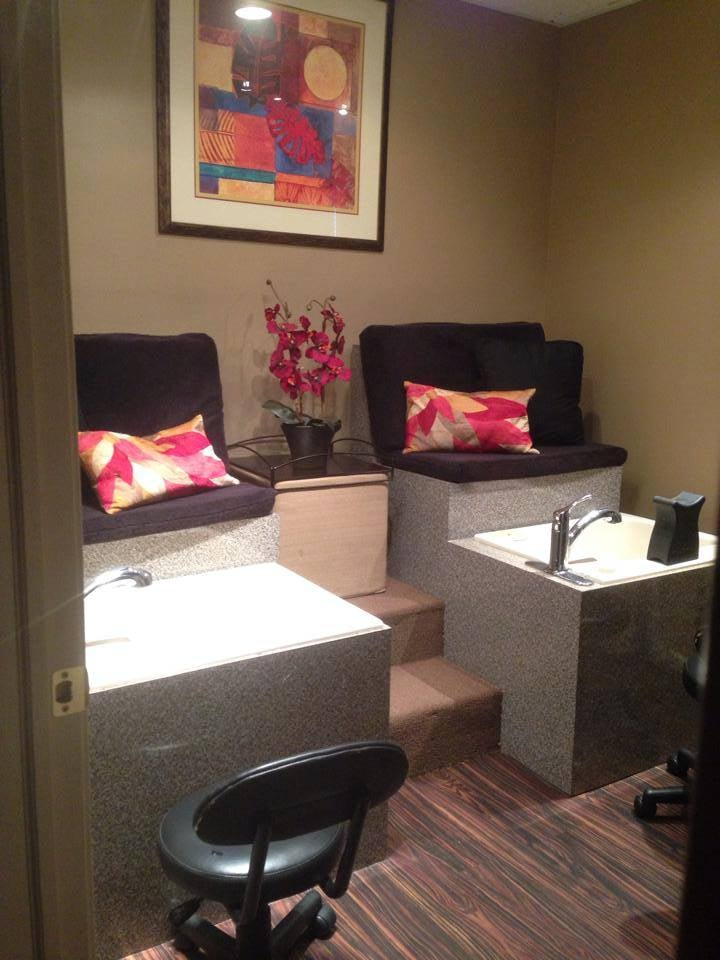 Pedicure footsoak area yelp for A touch above salon