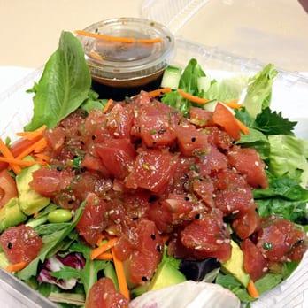 Seasalt fish grill order food online 649 photos 680 for Fish me poke menu