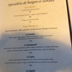 Il etait un square 14 reviews burgers 54 rue for H kitchen paris menu