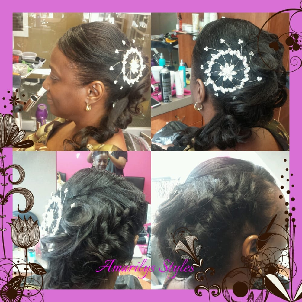 Weave Wedding Hairstyles: Wedding Updo And Sew In Weave