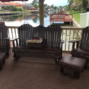 Photo Of Patio Casual   Oldsmar, FL, United States. Glider Bench With  Optional