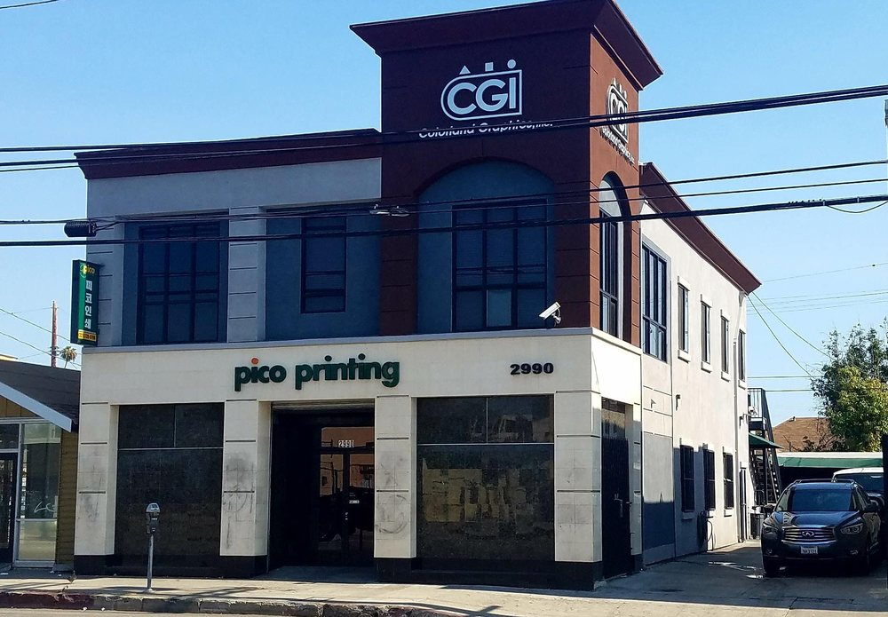 Pico Printing: 2990 W Pico Blvd, Los Angeles, CA